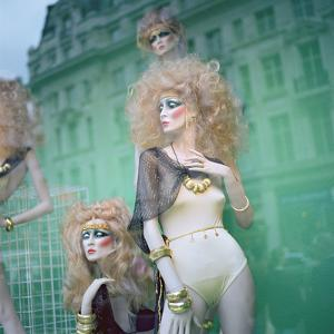 Shop Window with Mannequins