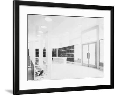 Shop Windows in the Piperno Alcorso Store, Rome-A. Villani-Framed Photographic Print