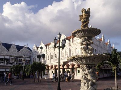 Shopping Area, Oranjestad, Aruba-Pat Canova-Photographic Print