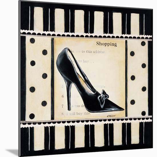Shopping I-Kimberly Poloson-Mounted Art Print