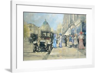 Shopping in Style-Peter Miller-Framed Giclee Print