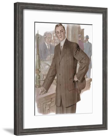 Shopping--Framed Art Print