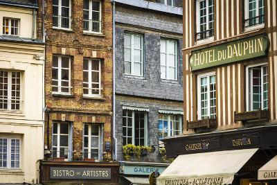 Shops and Galleries, Honfleur, Normandy, France-Russ Bishop-Photographic Print