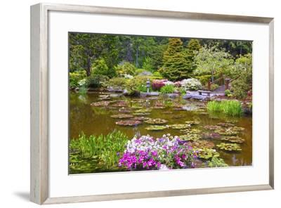 Shore Acres State Park, Coos Bay Oregon, South Oregon Coast, Pacific Northwest-Craig Tuttle-Framed Photographic Print