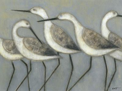 Shore Birds I-Norman Wyatt Jr^-Art Print