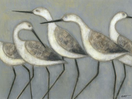 Shore Birds I-Norman Wyatt Jr^-Art Print