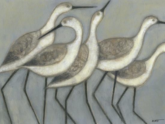 Shore Birds II-Norman Wyatt Jr^-Premium Giclee Print
