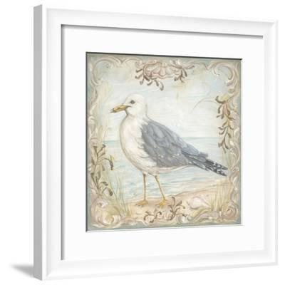 Shore Birds IV-Kate McRostie-Framed Art Print
