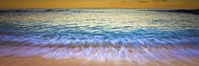 Shore Break at Kaupoa Bay, on the West End of Molokai Island-Richard A. Cooke Iii.-Photographic Print