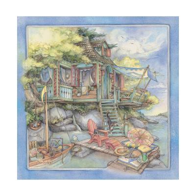 Shore House2-Kim Jacobs-Giclee Print