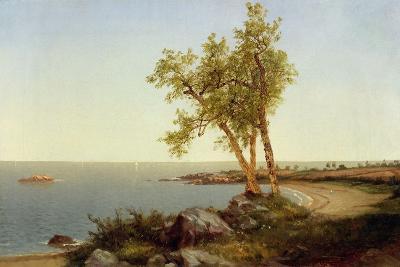 Shore Line in Summer-John Frederick Kensett-Giclee Print