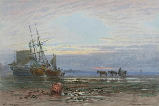Shore Scene - Sunset-J. MacPherson-Giclee Print