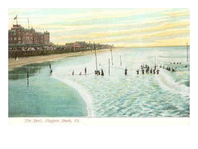 Shore, Virginia Beach, Virginia--Art Print