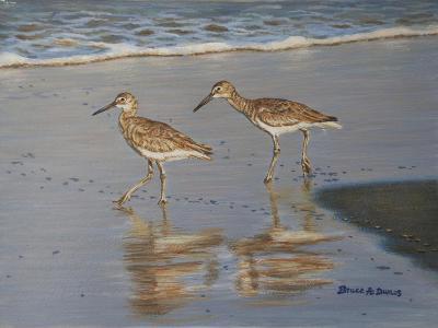 Shore Walkers-Bruce Dumas-Giclee Print