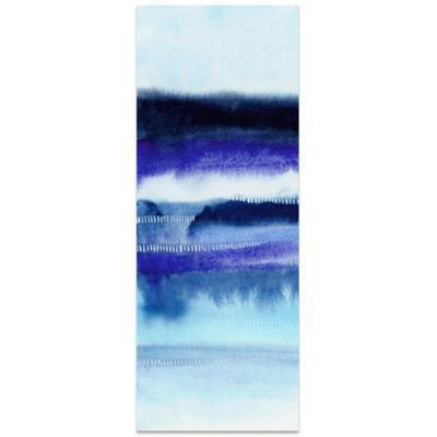 Shorebreak Abstract A - Free Floating Tempered Glass Panel Graphic Wall Art