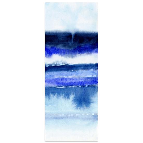 Shorebreak Abstract B - Free Floating Tempered Glass Panel Graphic Wall Art--Alternative Wall Decor