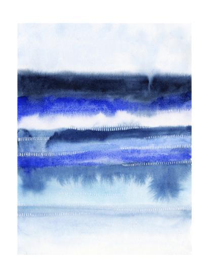 Shorebreak Abstract II-Grace Popp-Art Print