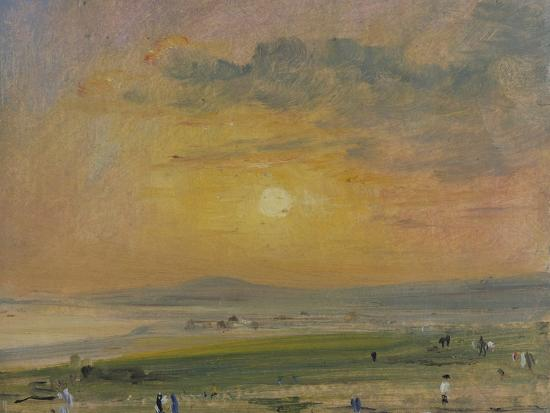 Shoreham Bay, Evening Sunset-John Constable-Giclee Print