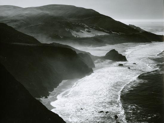 Shoreline, Big Sur, c. 1970-Brett Weston-Photographic Print