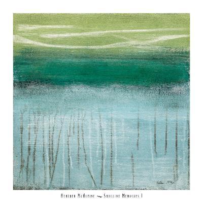 Shoreline Memories I-Heather Mcalpine-Art Print