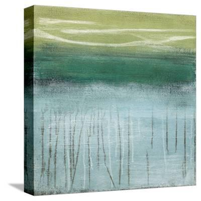 Shoreline Memories I-Heather Mcalpine-Stretched Canvas Print