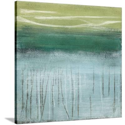 Shoreline Memories I-Heather Mcalpine-Stretched Canvas Print