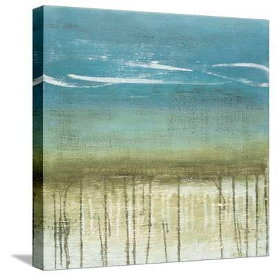 Shoreline Memories II-Heather Mcalpine-Stretched Canvas Print