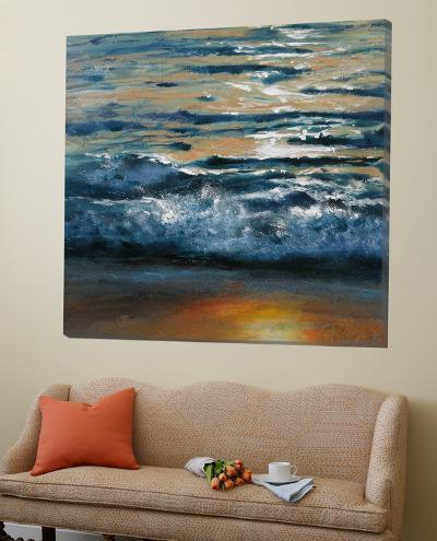 Shoreline Study 04515-Carole Malcolm-Loft Art