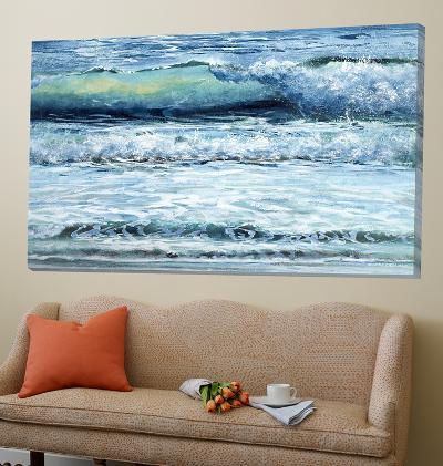 Shoreline Study 11-Carole Malcolm-Loft Art