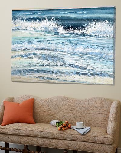 Shoreline Study 12-Carole Malcolm-Loft Art