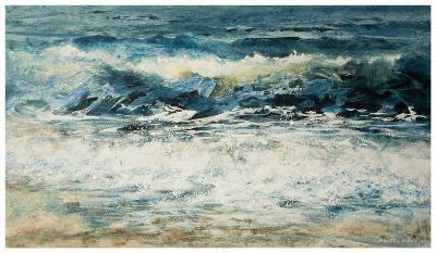 Shoreline Study 315-Carole Malcolm-Art Print