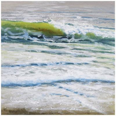 Shoreline study 4-Carole Malcolm-Art Print