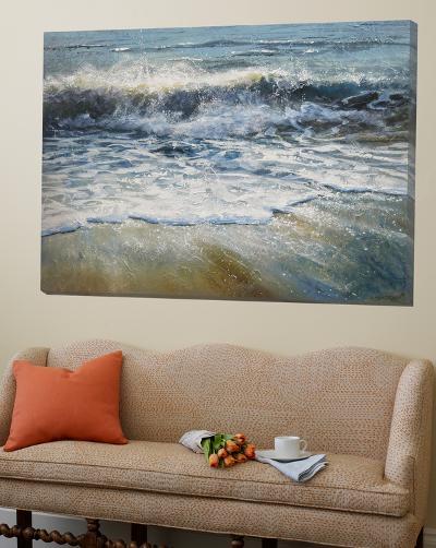 Shoreline Study 5-Carole Malcolm-Loft Art