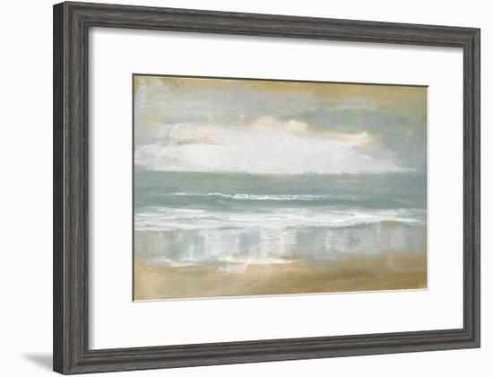 Shoreline-Caroline Gold-Framed Giclee Print
