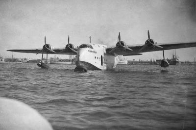 Short Empire Flying Boat 'Corinthian, Alexandria, Egypt, C1938-C1941--Giclee Print