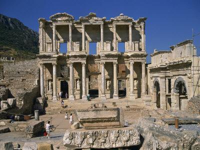 Celsus Library, Ephesus, Anatolia, Turkey Minor