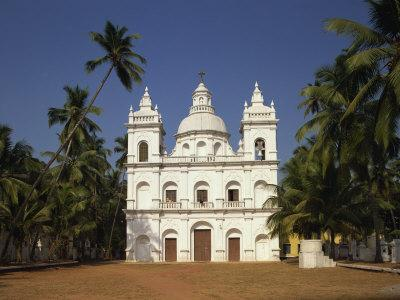 Church of St. Alex, Calangute, Goa, India