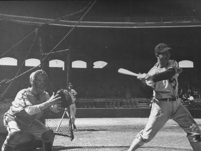 Shortstop Luke Appling at Bat--Premium Photographic Print