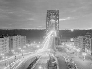 Shot of the George Washington Bridge