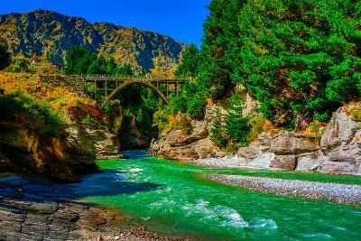Shotover River, Queenstown, South Island, New Zealand, Pacific-Laura Grier-Photographic Print