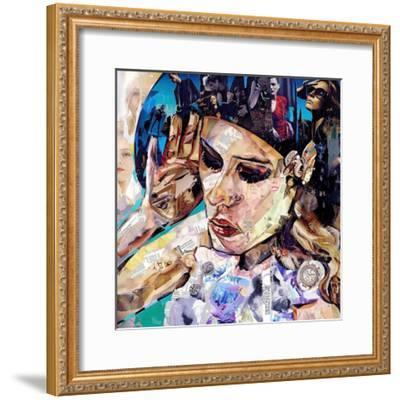 Should Women Act-James Grey-Framed Art Print