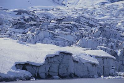 Shoup Glacier Covered in Fresh Snow-DLILLC-Photographic Print