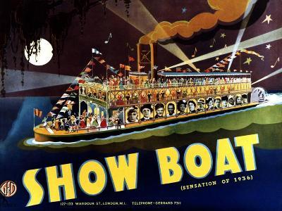Show Boat, 1936--Art Print