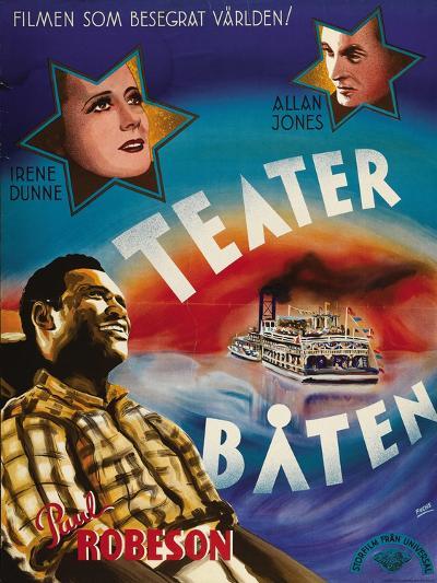 Show Boat, Swedish Movie Poster, 1936--Art Print