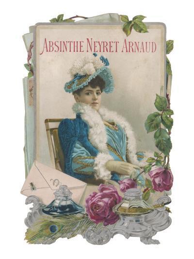 Showcard for Absinthe Neyret Arnaud--Giclee Print