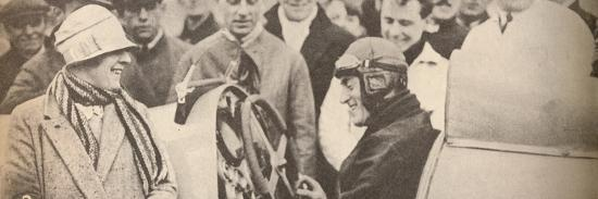 'Showing the driving mechanism to interested spectators', c1927, (1935)-Unknown-Photographic Print