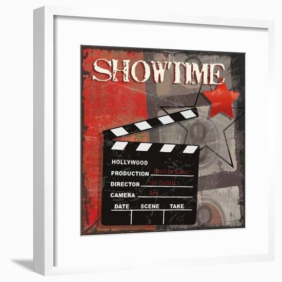 Showtime-Sandra Smith-Framed Art Print