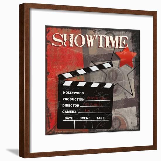 Showtime-Sandra Smith-Framed Art Print