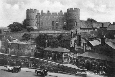 Shrewsbury Castle, Shrewsbury, Shropshire, C1900s-C1920S-Francis Frith-Giclee Print