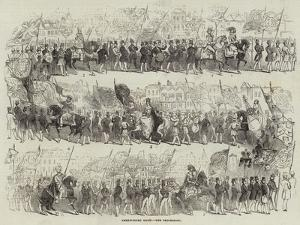 Shrewsbury Show, the Procession